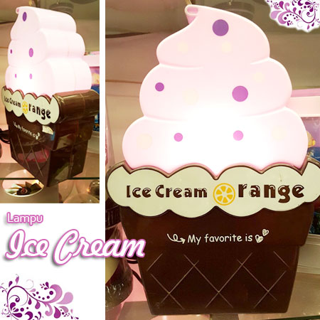LAMPU ICE CREAM