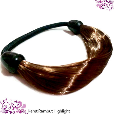 KARET HIGHLIGHT - COKLAT