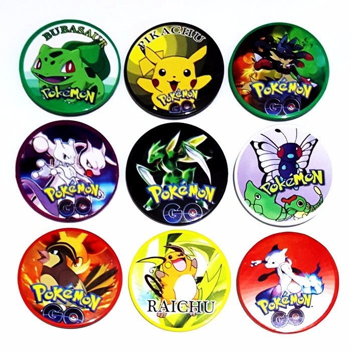 PIN - POKEMON isi 6