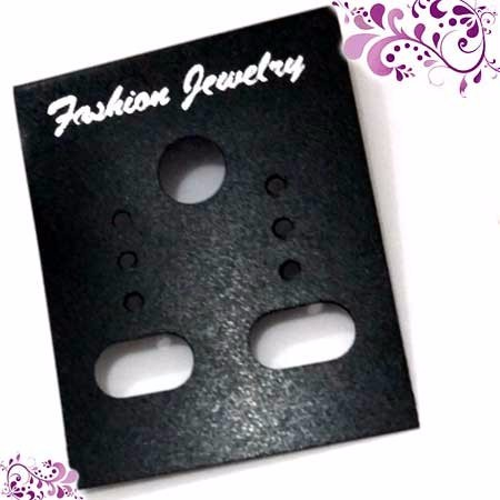 CARD ANTING isi 100 HITAM + plastik