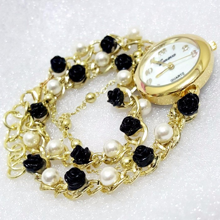 JAM FASHION MUTIARA BLACK
