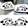 STIKER SPION PANDA COUPLE - BLACK