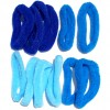 KARET FANCY BLUE isi 12