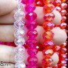 BEADS KRISTAL 8 isi 24 - PINK