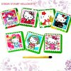 STIKER STAMP HELLOKITTY isi 12