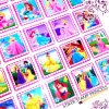 STIKER STAMP PRINCESS isi 12