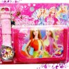 DOMPET set JAM BARBIE