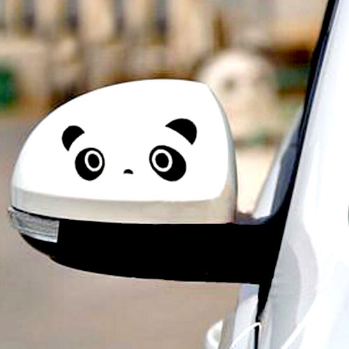 STIKER SPION PANDA - BLACK
